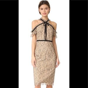 Shoshanna aleah lace dress